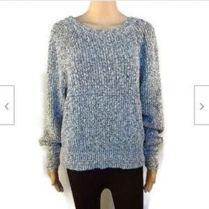 Free People grey chunky basic sweater